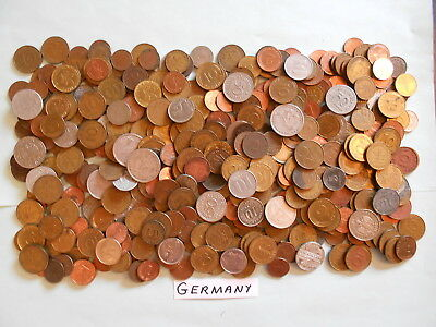 World Coin Lot:  400 Foreign Coins from Germany