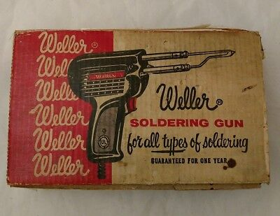 Weller D-440 Soldering Gun - w/ Original Box and NEW replacement parts!