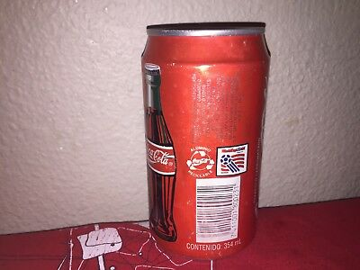 Coca Cola coke can El Salvador 1994 very rare
