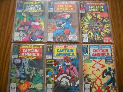 Captain America The Blood Stone Hunt Series 1-6 MINT