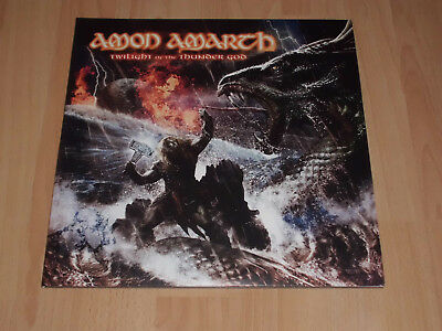 "AMON AMARTH ""Twilight Of The Thunder God"" D-LP/ Bolt Thrower/Unleashed/Hypocrisy"