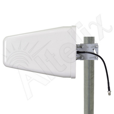 Wideband 10dBi Directional Outdoor Log Periodic Yagi Antenna 75 Ohm 2G 3G 4G LTE