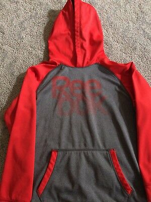 Reebok youth hoodie Size 14/16 red and gray