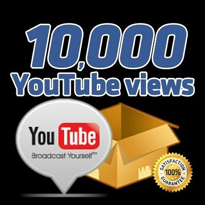 10,000 Real Video Views - High Retention - Fast Delivery