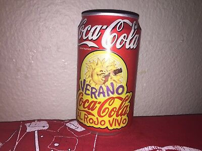 Coca Cola coke can El Salvador 1997