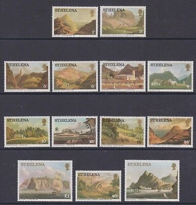 St. Helena - SG 319/31 - u/m - 1976 - Aquatints and Lithographs