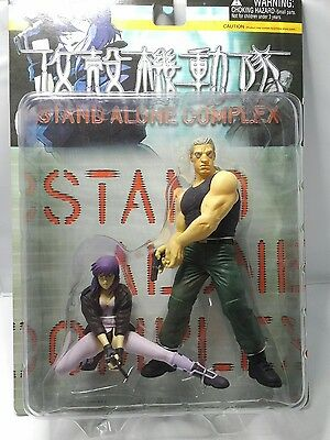 Ghost in the shell Stand Alone Complex Motoko and Batou Figures, Yamato, NIB