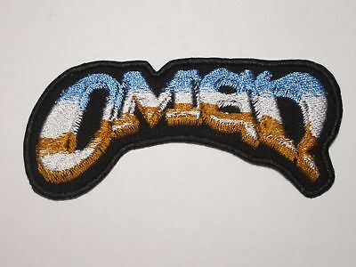OMEN logo embroidered NEW patch heavy power metal