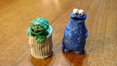 Vintage Cookie Monster and Oscar