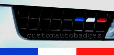 Renault Clio RS 172 182 Trophy Cup Sport French Flag Grille Decal Vinyl Stickers