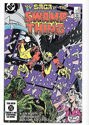 Hi-Grade The Saga of the Swamp Thing No. 27, 1984, 9.2 or Higher, Alan Moore