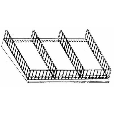 3x11 Wire Shelf Divider, PartNo R16-3-11-RD, by Southern Imperial, Single Unit