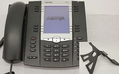 Aastra 6757i VOIP IP Phone (A1757-0131-10-01) w/ Stand A-Stock 6757 57i
