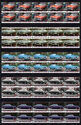 Ford Cortina 2000E Auto Icon Set Of 5 Mint Stamps