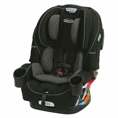 Graco 4 Ever 4-in-1 Convertible Car Seat with TrueShield Technology-ION