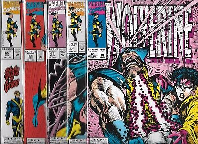 Wolverine Lot Of 5 - #61 #62 #63 #64 #65 (Nm-) X-Men