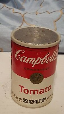 Vintage Campbell's Soup Can Advertising AM RADIO Tomato Soup works