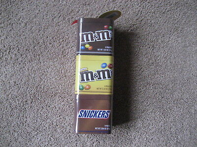 M&m's-   M&m 3 Tier Tin Set-  Brand New-  Never Opened