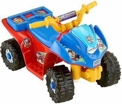 Power Wheels Nickelodeon Paw Patrol Lil' Quad with Paw Patrol Toddler Helmet