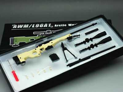 Mini Toys Sniping Rifle AWML96A1 PM Sand Weapon Model 1/6 Scale Army Gun Toy
