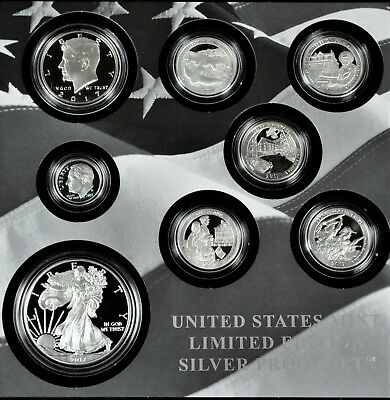 2017-S Mint Limited Edition Silver Proof Set with Proof Silver Eagle in OGP 17RC