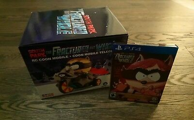 South Park The Fractured But Whole RC Coon Mobile and Gold Steelbook Edition PS4