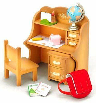 Epoch KA-309 Sylvanian Families study desk Set F/S from Japan