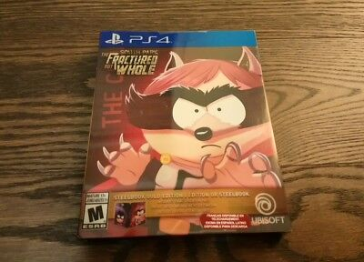 South Park The Fractured but Whole Gold Edition Sony PlayStation PS4 Steelbook