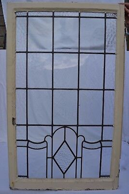 Art deco leaded light stained glass window. R638e. INSURANCE INCLUDED!!!