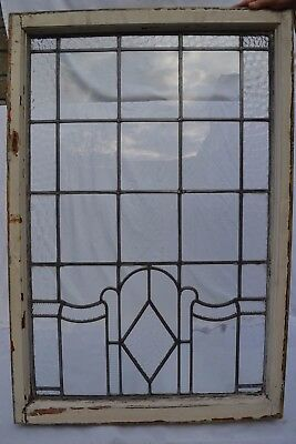 Art deco leaded light stained glass window. R638f. INSURANCE INCLUDED!!!