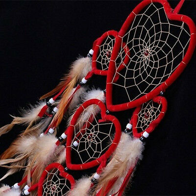 New Handmade Dream Catcher with feathers car or wall hanging decoration ornament