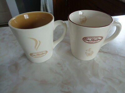 Tim Hortons - Limited Edition Mugs #006, #007 - Good Condition