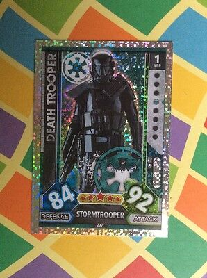 Star Wars DEATH TROOPER Force Attax Trading Game Card No.230  New 2017