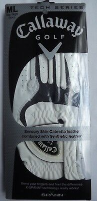 Callaway Medium Large Right Hand Golf Glove for Left Handed Player