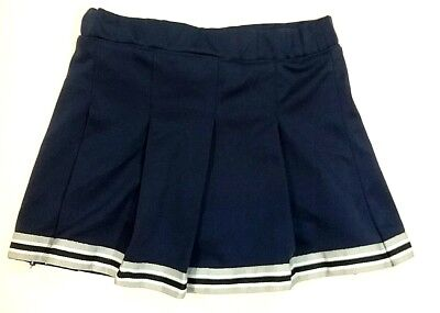 Toddlers Girls 3T Cowboys Authentic Apparel Cheerleader Skirt Built In Shorts