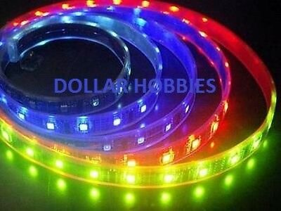 2 x Green Self Adhesive Water Resistant 20cm 12 LED Light Strips W/JST Plug,
