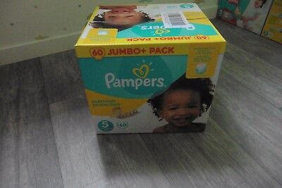 couches pampers jumbo pack T5 X60