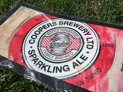 COOPERS SPARKLING ALE Rubber Backed BAR RUNNER MAT