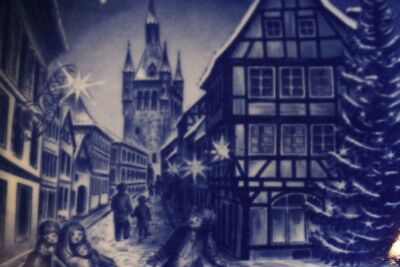 Bareuther Weihnachts Sammel Teller Collectors' Plate Christmas 1982 Top Zustand