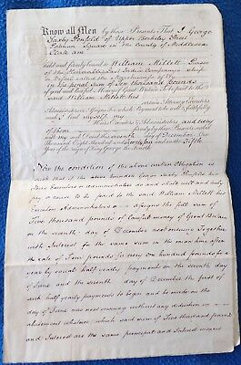 Paper Document G. Penfold and W. Millett, with East India Company Connection, 18