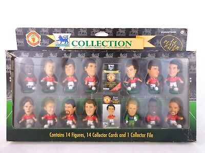 Vintage Action Figure Corinthian Football Manchester United 14 Pack Set Rare