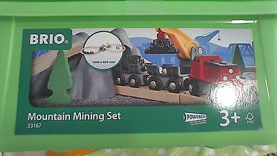 BRIO 33167 Mountain Mining Set Komplett