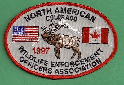 Pa Pennsylvania Fish Game Commission COPA Related 1997 Colorado Elk NAWEOA Patch