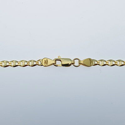 Genuine Brand new 9K Solid Italian Yellow Gold Chain Necklace 45-80 cm in Length