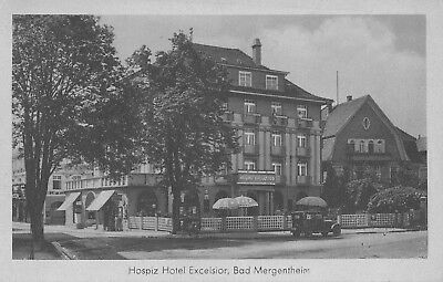 AK - Bad Mergentheim - Hotel Excelsior - von 1936 / - 210 -