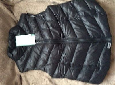 Bnwt Next Girls Body Warmer Gilet Shower Resistant Age 7 Years Rrp £20 Twin 1