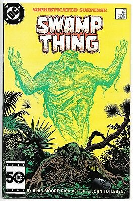 Swamp Thing #27-60 Alan Moore Lot #37 49 50 John Constantine Justice League Dark