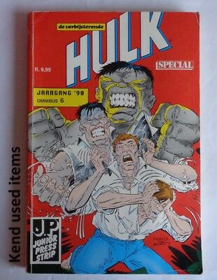 DE VERBIJSTERENDE HULK SPECIAL omnibus 6 jaargang '90 - 1990 JUNIOR PRESS STRIP