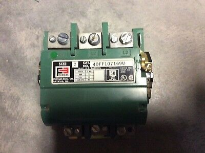 Furnas Three Phase Magnetic Contactor  Size 2  40Ff107169U