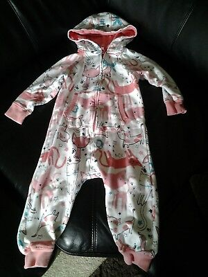 Girls Next all in one outfit 2-3years